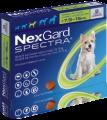 NexGard Spectra M(預防跳蚤、牛蜱、心絲蟲、腸道寄生蟲)(7.5公斤至15公斤的狗) (每盒三粒)