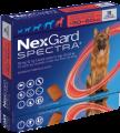 NexGard Spectra XL(預防跳蚤、牛蜱、心絲蟲、腸道寄生蟲)(30公斤至60公斤的狗) (每盒三粒)
