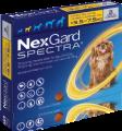 NexGard Spectra S(預防跳蚤、牛蜱、心絲蟲、腸道寄生蟲)(3.5公斤至7.5公斤的狗) (每盒三粒)