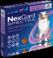 NexGard Spectra L(預防跳蚤、牛蜱、心絲蟲、腸道寄生蟲)(15公斤至30公斤的狗) (每盒三粒)